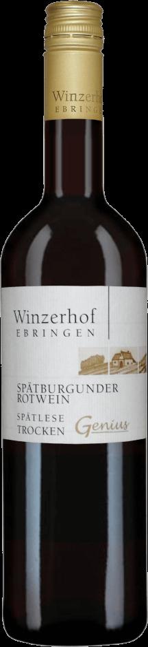 Spätburgunder Rotwein Genius Spätlese trocken 2016