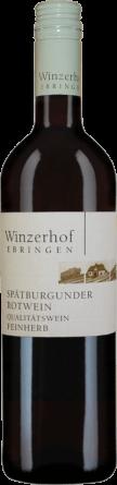 Spätburgunder Rotwein feinherb 2018