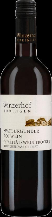 Spätburgunder Rotwein trocken – Im Eichenfass gereift – 2016