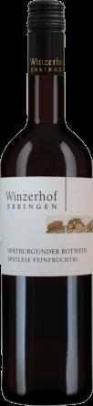 Spätburgunder Rotwein Spätlese feinfruchtig 2018