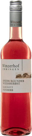 Spätburgunder Weißherbst Kabinett feinherb 2018