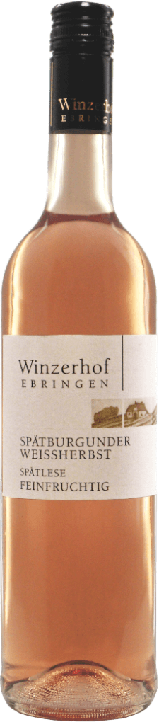 Spätburgunder Weißherbst Spätlese feinfruchtig 2018