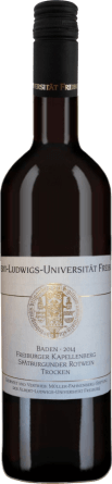 Freiburger Kapellenberg Spätburgunder Qualitätswein trocken 2019