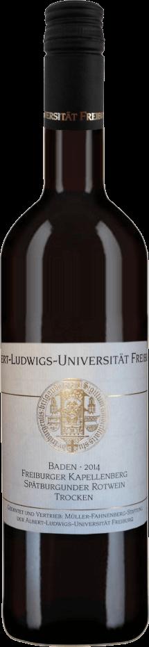 Freiburger Kapellenberg Spätburgunder Qualitätswein trocken 2016