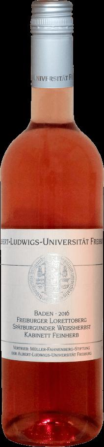 Freiburger Lorettoberg Weißherbst Kabinett feinherb 2019
