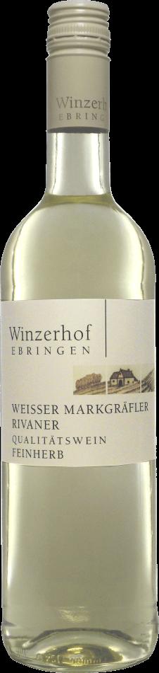 Weißer Markgräfler Rivaner feinherb 2019