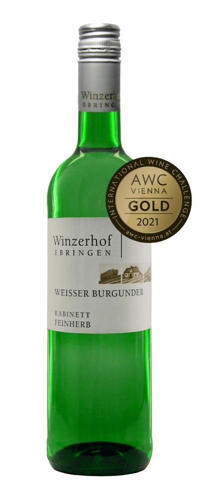 Weißer Burgunder Kabinett feinherb 2020
